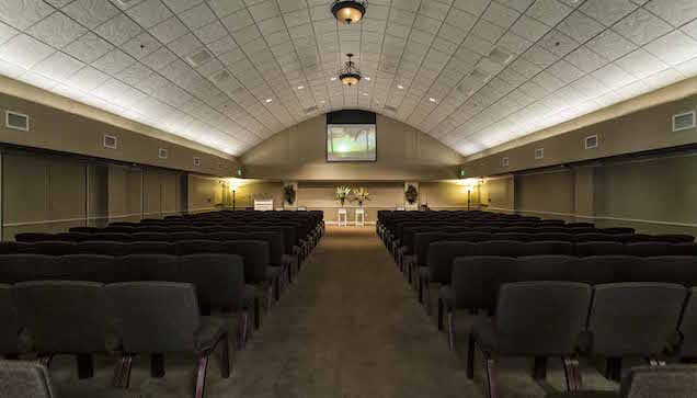 LakeRidge Chapel & Memorial Designers Chapel